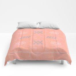 Morocco Kilim in Peach Comforters