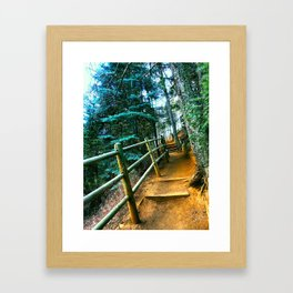 Colorado Hike Framed Art Print