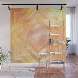 Mosaic Tile // Yellow Starburst Wall Mural