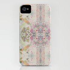 Lacey Cobweb Ikat-ish Painting Print Slim Case iPhone (4, 4s)