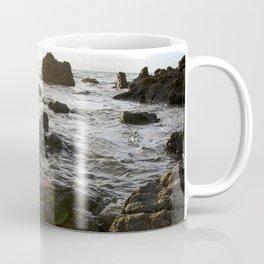 Sun Beam on the Rocks  Coffee Mug