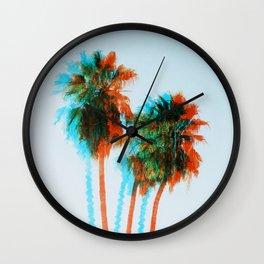 King Palms Wall Clock