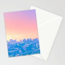 osaka vaporwave Stationery Cards