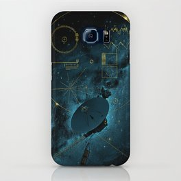 Voyager and the Golden Record - Space   Science   Sagan iPhone Case