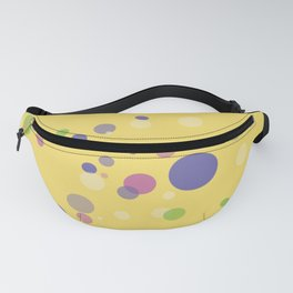 Fantasy Bubbles on Yellow  Fanny Pack