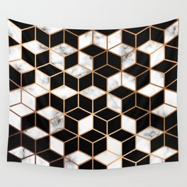 Marble & Geometry 005 Wall Tapestry