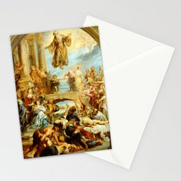 Peter Paul Rubens The Miracles of Saint Francis of Paola Stationery Cards