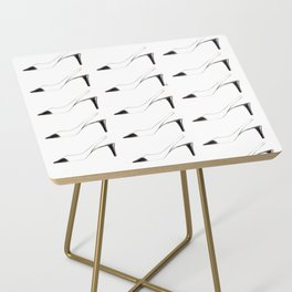 Black & White shoes Side Table