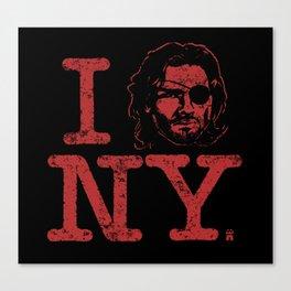 I (Snake) NY Canvas Print