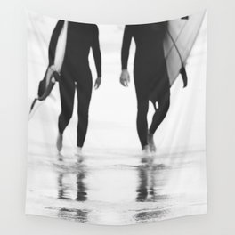 Catch a wave III Wall Tapestry