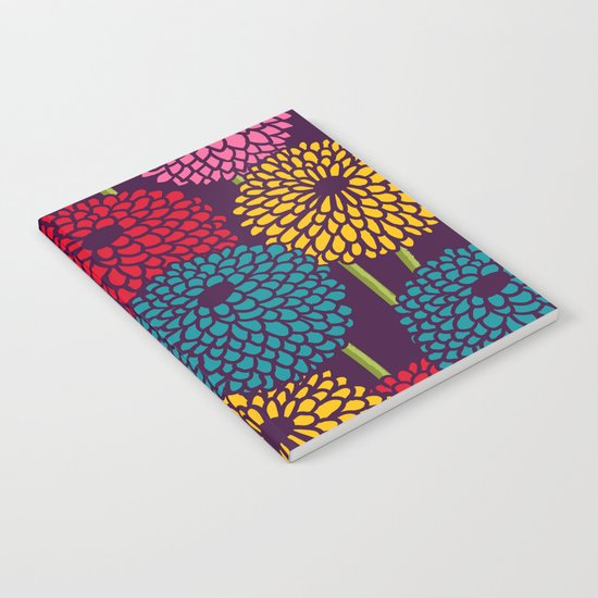 Full of Chrysanth Notebook