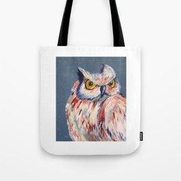 Subtle Owl Tote Bag