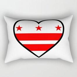 Love Washington DC Rectangular Pillow