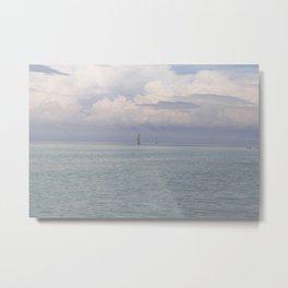 Sea in peace Metal Print