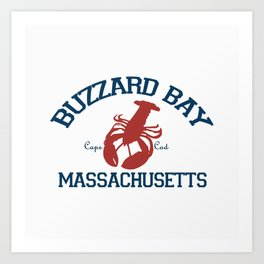 Buzzards Bay, Cape Cod Art Print