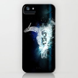 Ox Skull space iPhone Case