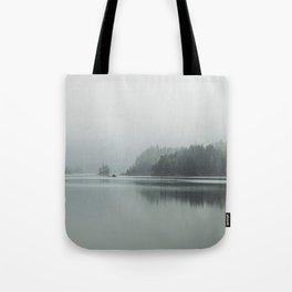 Fog - Landscape Photography Tote Bag