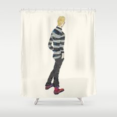 Back View Shower Curtain