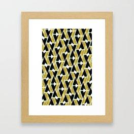 WTU PATTERN PRINT 4 Framed Art Print