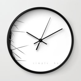 Simple - but effective. Wall Clock