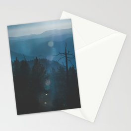 Yosemite, Blue Stationery Cards