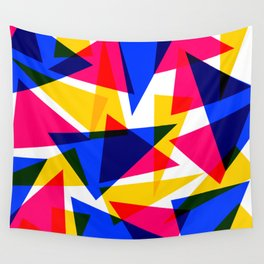 CMYK Shard Wall Tapestry