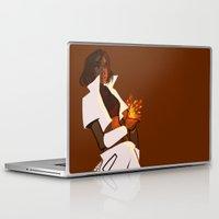 korra Laptop & iPad Skins featuring Punk! Korra by frigates