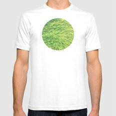 Turf. SMALL Mens Fitted Tee White