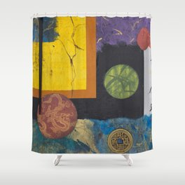 Floating World Shower Curtain