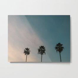 Palm Trees, Culver City Metal Print