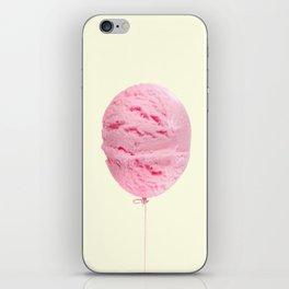 ICE CREAM BALLOON iPhone Skin