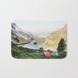 CAMP VIBES III / Switzerland Bath Mat