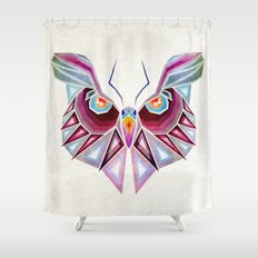 owl or butterfly? Shower Curtain