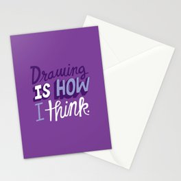 How I Think Stationery Cards