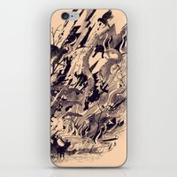 chaos iPhone & iPod Skins featuring Chaos by nicebleed