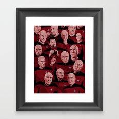 Picard Day Framed Art Print