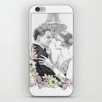 the great gatsby iPhone & iPod Skins featuring The Great Gatsby by stardustsoul