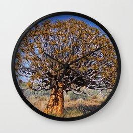 Quiver trees, Namibia Wall Clock