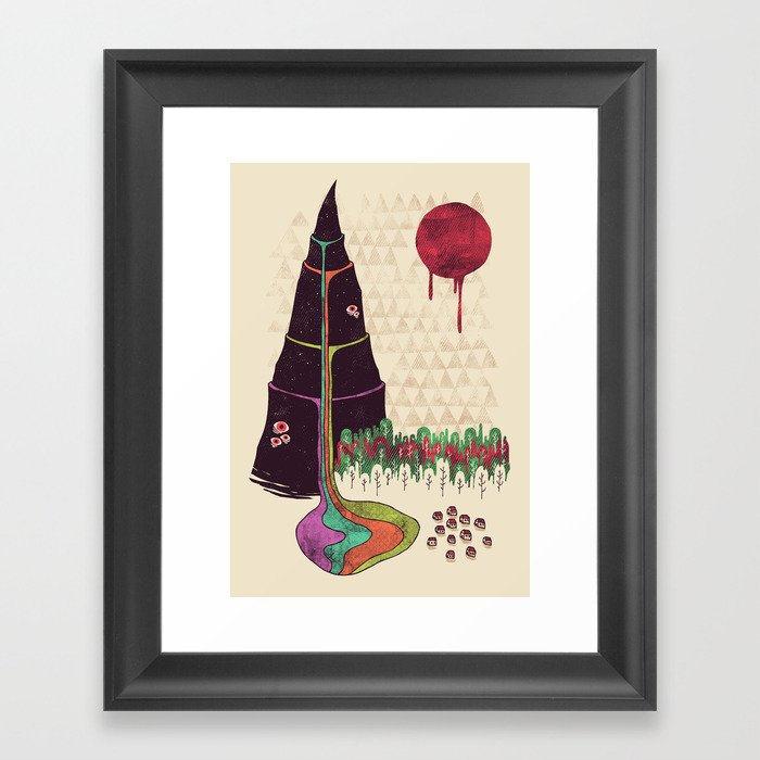 Holy Mountain Framed Art Print