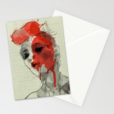 lost in dreams Stationery Cards