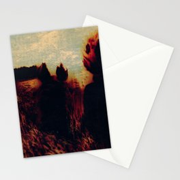 Sunrise and fox Stationery Cards