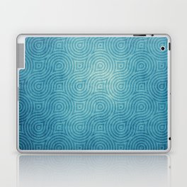 Blue Pattern Laptop & iPad Skin