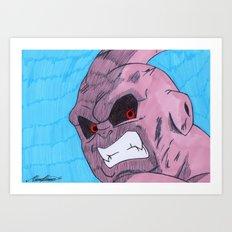 Super Buu Art Print