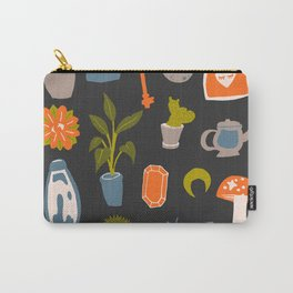 Minimalist Teenage Bedroom Flash Sheet Carry-All Pouch