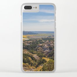 Badlands, Theodore Roosevelt NP, ND 3 Clear iPhone Case