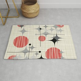 Starbursts and Globes 2 Rug