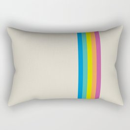 Rainbow - vintage photo Rectangular Pillow