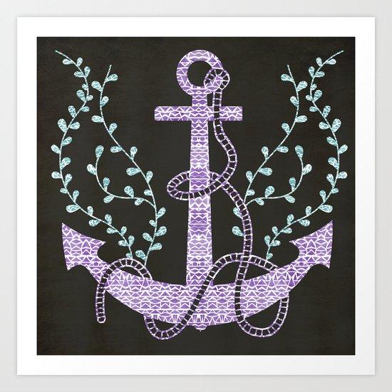 Tribal Nautica Art Print