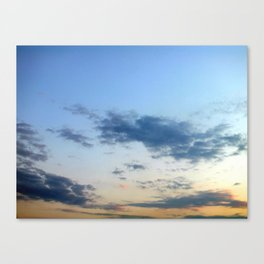 My Skies Nice Canvas Print