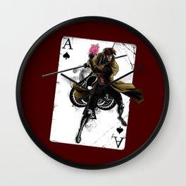Le Diable Blanc Wall Clock